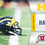 U-M trails by a touchdown at halftime, but will receive the ball when we return for the second half. #GoBlue http://t.co/iddXZ05xLH