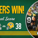#Packers wrap up the preseason with a victory! #NOvsGB http://t.co/thPQfrojN7