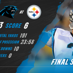 A great finish to the preseason. #CARvsPIT Rapid Recap: http://t.co/ZzoEoZtKLc http://t.co/JMIdpvdx3L