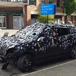 Each phone represents 1 of 437 lives lost to distracted driving between 2009-2013 #itcanwait http://t.co/uVRL3Vrw5W