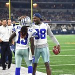 Dez and Lucky #HOUvsDAL http://t.co/ieD2CMVHg0