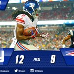 #Giants end the preseason with a 12-9 win over the Patriots. Watch highlights HERE: http://t.co/1Qk9N3Bw25 http://t.co/wx5gvqhbfD