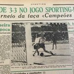 60 yrs ago today @SportingCP_en and Partizan played 1st match in what is now @ChampionsLeague http://t.co/ZZLwOfMpFC http://t.co/hXeC7xYXmO