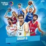 1 day to go to #EuroBasket2015!  Which is your favourite team in Group B? http://t.co/Xpx68Cpb3z