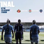 The final four...  Starting this Sunday with #MCWFC v @safcladies (6pm).  http://t.co/gKpMvZmqoM  Will you be there? http://t.co/85ARi8soFK
