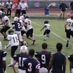 ICYMI: A Florida high school powerhouse has a 4-foot-5, 95-pound RB and hes got moves. WATCH: http://t.co/K1g4L9dKHb http://t.co/0BiV7xGG4r