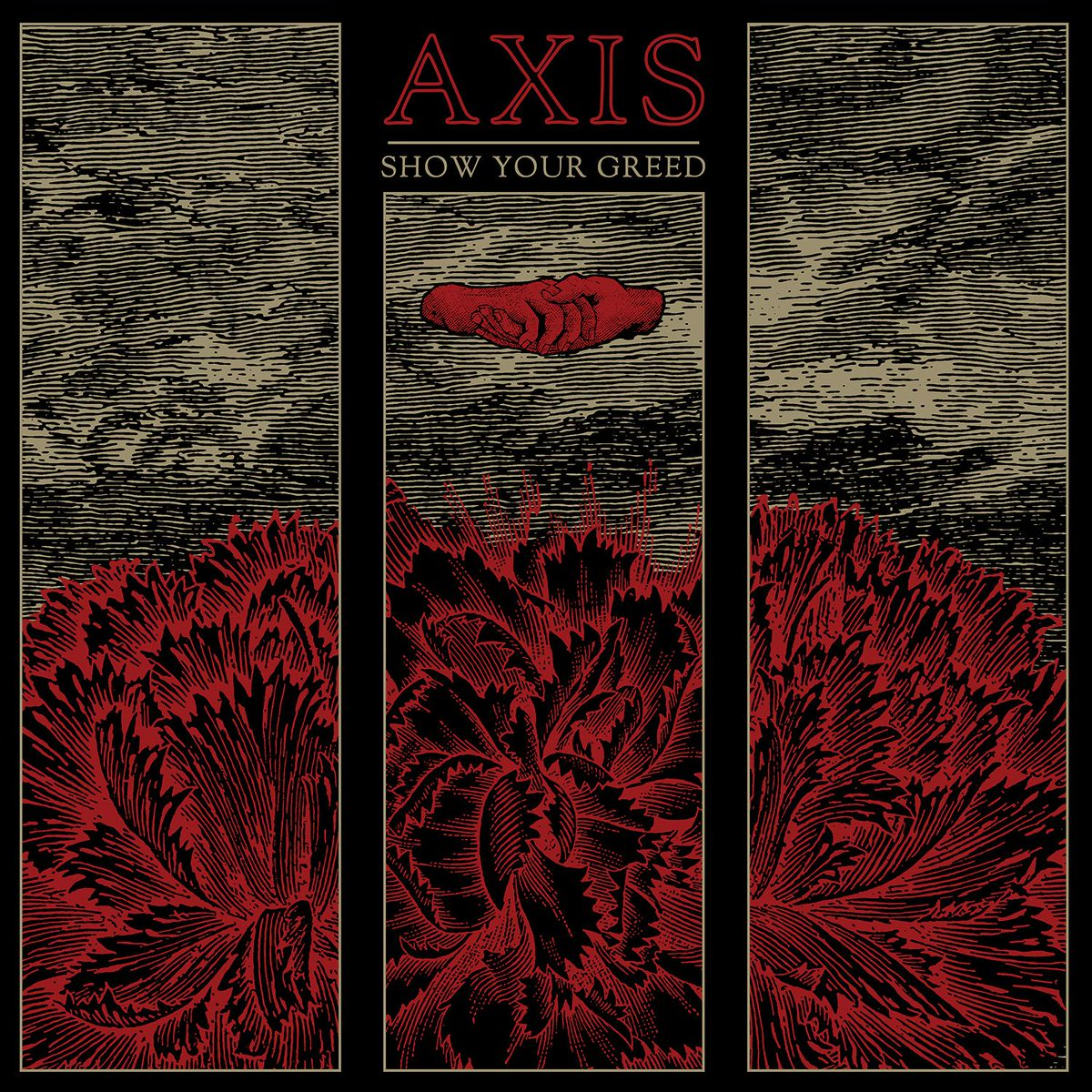 AXIS - Show Your Greed is out NOW! Grab your copy now at @merchnow http://t.co/5a1Fkc78X6! @AXISFL http://t.co/NRvDOTvFbj