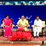 PM Narendra Modi at Manekshaw auditorium (Delhi), will interact with school students. http://t.co/SxUA4dhu6T