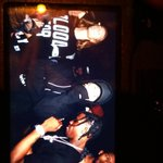 "Justin na festa do álbum ""Rodeo"", de Travis Scott, na boate Up & Down, em Nova Iorque - 04 de Setembro. http://t.co/0EhVHTzBAF"