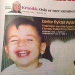 Viktig å snakke om bildet av tre år gamle Aylan. Men hva gjøres for å stanse krigen i Syria? http://t.co/G1Tw9PpqmS