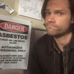 Oh #SPNFamily the places we film for yall... ;) #AnActualSign http://t.co/FM3Rljy3Oj