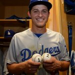 Game No. 1 in the books for Corey Seager. (via @JonSooHooPics) http://t.co/d1HqjO52t9