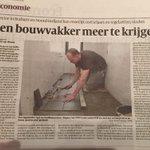 Al lang voorspeld en nu een feit: tekort aan vakbekwaam personeel @volkskrant @BouwendNL http://t.co/ePLmzj4peK