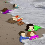 Poignant tributes to Alan Kurdi shared on social media with hashtag #HumanityWashedAshore #KiyiyaVuranInsanlik http://t.co/TE2z8Kljt6