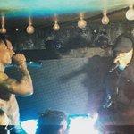 Justin na festa do álbum de Travis Scott, na boate Up & Down, em NYC - 04 de Setembro: http://t.co/7iWdQfgeyQ http://t.co/T6wLC7TuFf