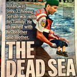 Its not only immigrants who are drowning..its also our humanity tenanglah di sana, #AylanKurdi. Alfatihah. http://t.co/JTd4P6xlsq