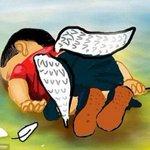 """من """"كيم"""" إلى إيلان المعاناة نفسها والتأثير عينه... http://t.co/cxjEIrDF4z @Salwabouchacra #غرق_طفل_سوري http://t.co/fJNDSh10PK"""