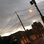 Homeless in #Vancouver: In lieu of a real sunset, #Fairview improvises http://t.co/fyvrXDWRo7 #rain http://t.co/p8OD9lBVDz