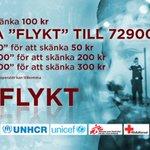 TV4 samlar in pengar till flyktingar tillsammans med hjälporganisationer. Lämna ditt bidrag: http://t.co/1SH0cYrYZu http://t.co/prTYzhm4MX