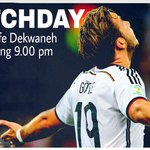 No slip-ups allowed for Germany tonight! http://t.co/aJgBfFUrxB