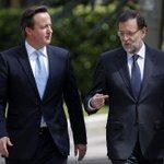 Tribuna conjunta de Mariano Rajoy y David Cameron   Por una Europa más competitiva http://t.co/Jlkx1zFR0H http://t.co/yRJpEVrZLh