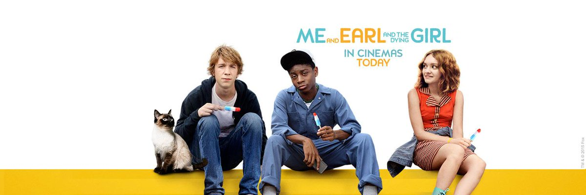 ReTweet to win a cool @MeAndEarlUK tee-shirt.  Quirky tragi-comedy which starts today: https://t.co/CVZdZy1o33 http://t.co/CiKkwRDPHT
