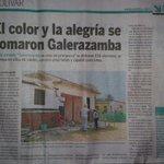 La #Primavera del @bolivarganador en  #Galerazamba. Iniciativa de la Gestora Social @anaegomezh http://t.co/TJ7rVqPptq