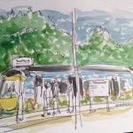 Made it to #Tweedbank thanks to this beautiful @BordersRailway train :) #MyBordersRailway #rail #journey #borders http://t.co/3aORBxKUPN