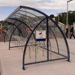 Tweedbank Station parking, cycle style @SRDorman @BordersRailway http://t.co/XufbWy1EQ9