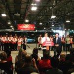 This morning @JustinTrudeau is joined by @StevenDelDuca talking transit! #elxn42 http://t.co/IHysRrtIbD