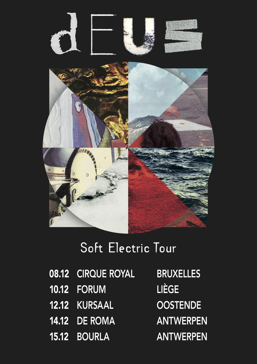 Soft Electric Tour - Belgium dates announced! http://t.co/BBxiZBsSfD