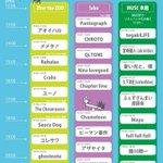 【タイムテーブル公開!!】 2015.10.04(日) YOYOGI Seesaw Festival 2015 #シーソーフェス #拡散希望 http://t.co/1qWgjzVk5Y