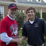 #PAgov snapshot → Gov. Wolf congratulates Cole Wagner at the #RedLandLL celebration at the Residence yesterday ⚾️ http://t.co/Ix8RPhYtyv