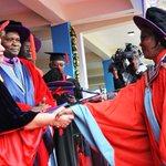 #uongraduation #KOT What an honour to PhD graduates to greet the Chancellor, Dr. Vijoo Rattansi. @citizentvkenya http://t.co/4Z1d3R8pWB