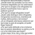 ¡Ojo! Las respuestas a estas preguntas, que no verás en la prensa, sobre tema #refugiados, pueden causarte problemas http://t.co/CQ2mtE16aR