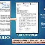 Pedido por @cep_cepolicia el 23 de julio y concedido ayer: se prolonga despliegue de PN de la #OPE2015 hasta octubre http://t.co/dIzafT6m8M