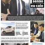 ME SEGURA SENÃO EU CAIO. Esta é capa do Diario de Pernambuco desta sexta-feira, 4 de setembro de 2015. http://t.co/ltzr2TJHWk