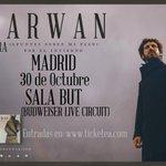#MADRID, nos vemos en OCTUBRE??? ... 30 de OCTUBRE en la SALA BUT http://t.co/E9cvwjPShE http://t.co/LEW9vE1LAX