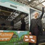 (Super) Model Railway. Borders Railway gets ready for its close-up http://t.co/R1F8XXXoAL #MyBordersRailway http://t.co/dh17ySQoKV