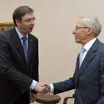 On the eve of the visit to the #USA, w/ Ambassador Kirby about possibilities for improving cooperation in all fields http://t.co/E8M3R2RAZl