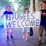Austria welcoming refugees http://t.co/IMAnOJt4eJ