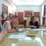 @PuriCausapi y @espinar_mar con la cultura en #Madrid y con una de sus instituciones de referencia: @ateneodemadrid http://t.co/4X5rgqCbHP