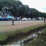 Ngong rd just turned to a parking a while ago, Waiting for the Presidential convoy to roll. http://t.co/KDlPNxnBkz via @Cassie_tesh