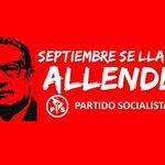 ¡Allende, Allende, Allende está presente! #45añosUP http://t.co/JRw7y4I4XV