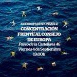 Concentración esta tarde #4SEuropaResponsable #RefugiadosBienvenidos http://t.co/5AILo1DdMC