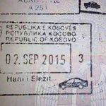 U pasošu Republike Srbije pečat Republike Kosova, epilog je uspešnih pregovora.  Priča s tužnim krajem je ispričana. http://t.co/w4n2MaH2eR