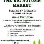 We cant wait to be a part of @TruroFarmersMkt tomorrow! http://t.co/dUsFBNARes #KPRS #Cornwall #bizitalk #biz4dogs http://t.co/K9qCBTv68f