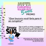 Vocês já estão sabendo da promoção do @TuiteriaShow  com o @curupiravampiro ? NÃÃÃOO? Então saca só: http://t.co/JTSD9KgZE4