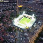 Drone image of last nights England U21 match at #Deepdale, #Preston (pic: Stephen Melling) #pnefc #LEPLive http://t.co/4odIiBWUPi