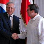 Visita #Cuba delegación empresarial de #Chile @HeraldoMunoz @CubaMinrex @PresidentaMB… https://t.co/E5gmLNr8jH http://t.co/f53q2ABBB2